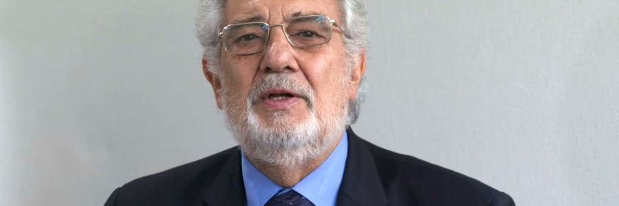 Plácido Domingo: destruction of Cultural Heritage is a Human Rights Issue