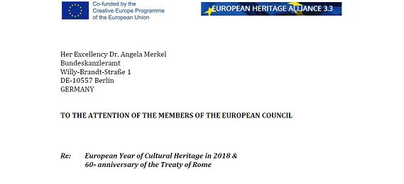 European Year of Cultural Heritage needs adequate Funding